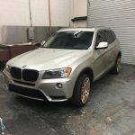 BMW Before Matte Wrap